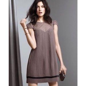 Victoria's Secret Polka-Dot Pleated Babydoll Dress
